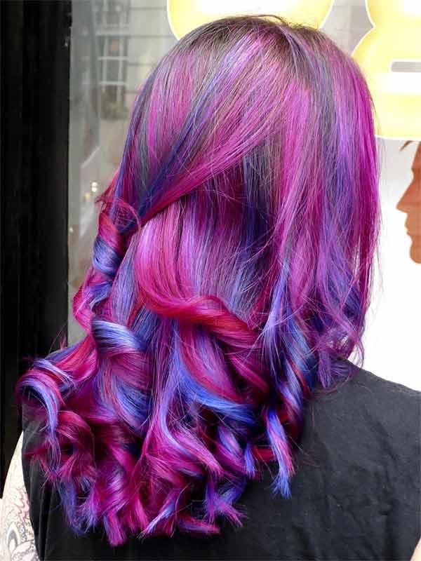 neat curls